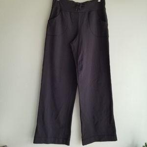 Lululemon black drawstring pants 6